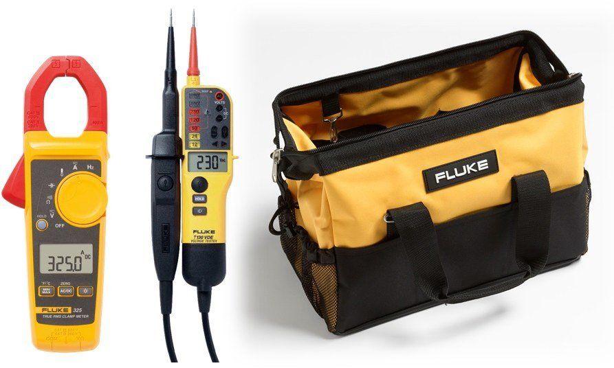 Zestaw Startowy Dla Elektryka Tester Dwubiegunowy T150 Miernik Cegowy 325 Torba C550 4864918 Fluke 1 Bags Camera Bag Stuff To Buy