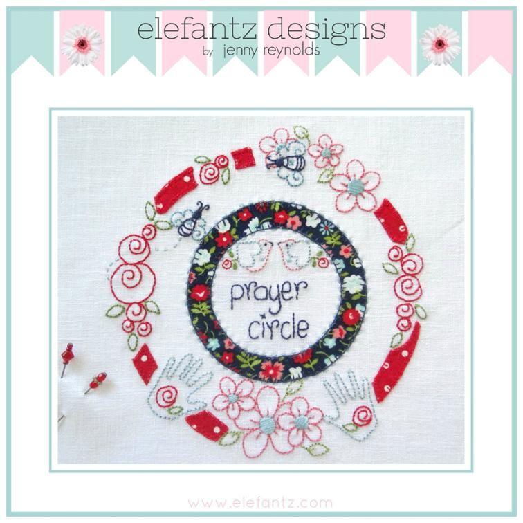 Prayer Circle | Craftsy | Embroidery | Pinterest | Bordado