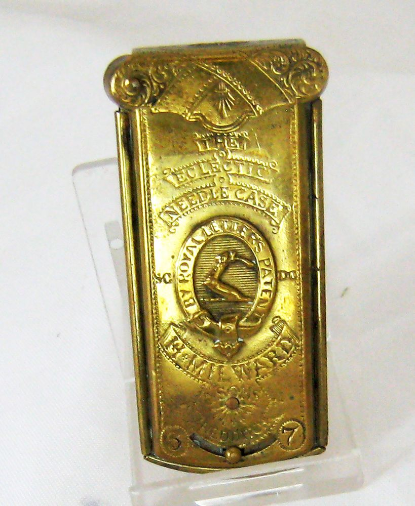 H Milward Eclectic Needle Case by Royal Letters Patent – Victorian | eBay