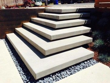Best Cardiff Floating Stairs Modern Landscape San Diego 400 x 300