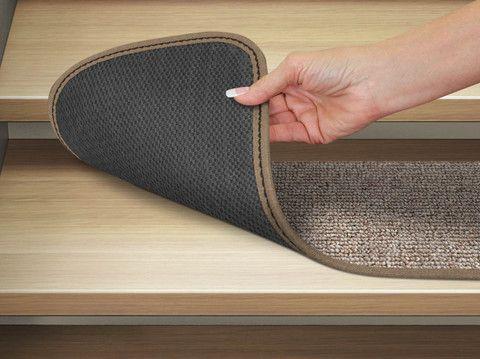 Carpet Stair Treads In Attachable Or Skid Resistant 12 Colors Carpet Stair Treads Stair Runner Carpet Carpet Runner