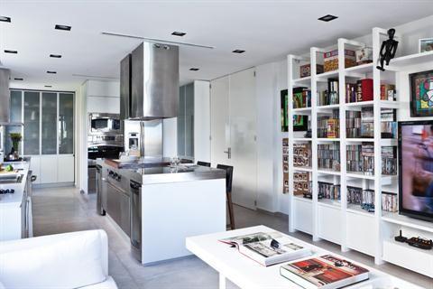 Cocina Y Sala De Estar Todo En Uno Cocinas Integradas