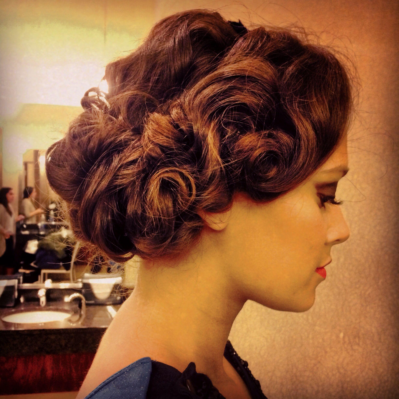 1920s Gatsby inspired hair #freelancehairstylist # ...