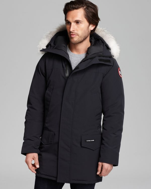 canada goose jacket mens black