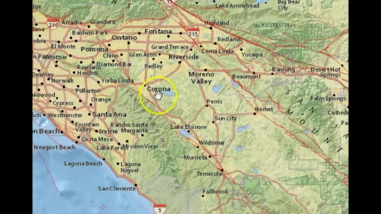 California Quake Map Usgs%0A Odd Earthquake Swarm In Southern California  Heart of New Madrid Activity    seismic activity and other signs   Pinterest   Southern california