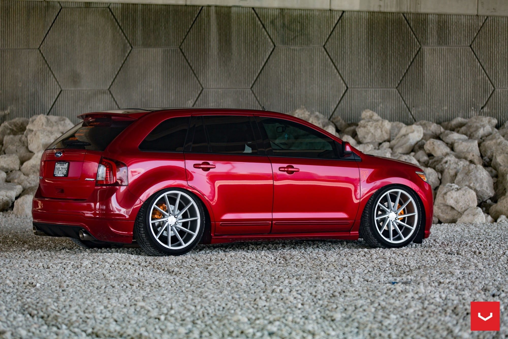 vossen cvt on the ford edge ford edge ford edge. Black Bedroom Furniture Sets. Home Design Ideas