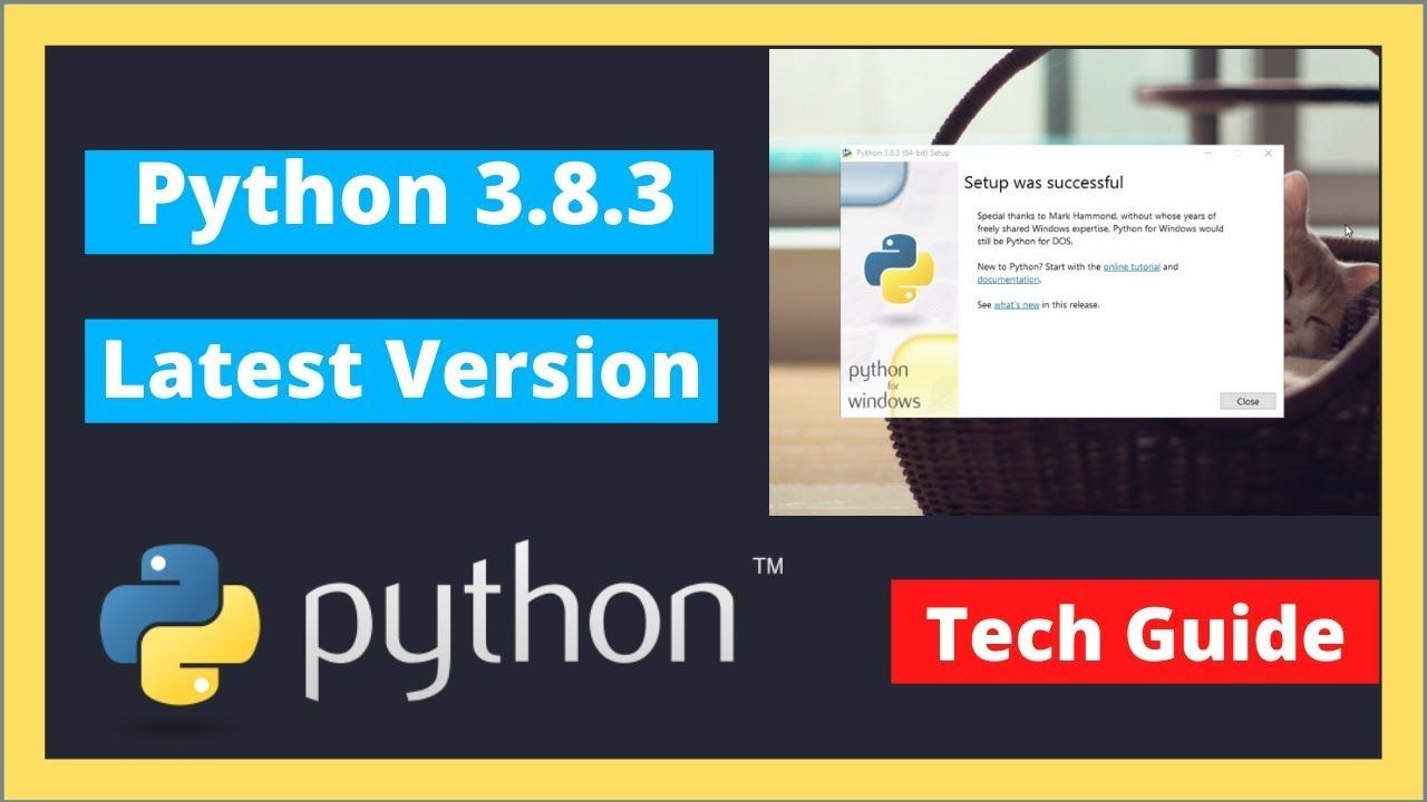 How to install Python 3.8 on Windows 10 New Update 2020