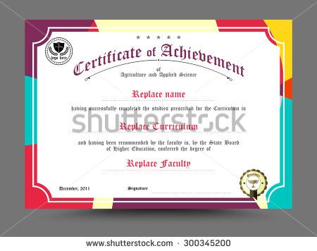 Diploma certificate template design vector illustration diploma certificate template design vector illustration yelopaper Gallery