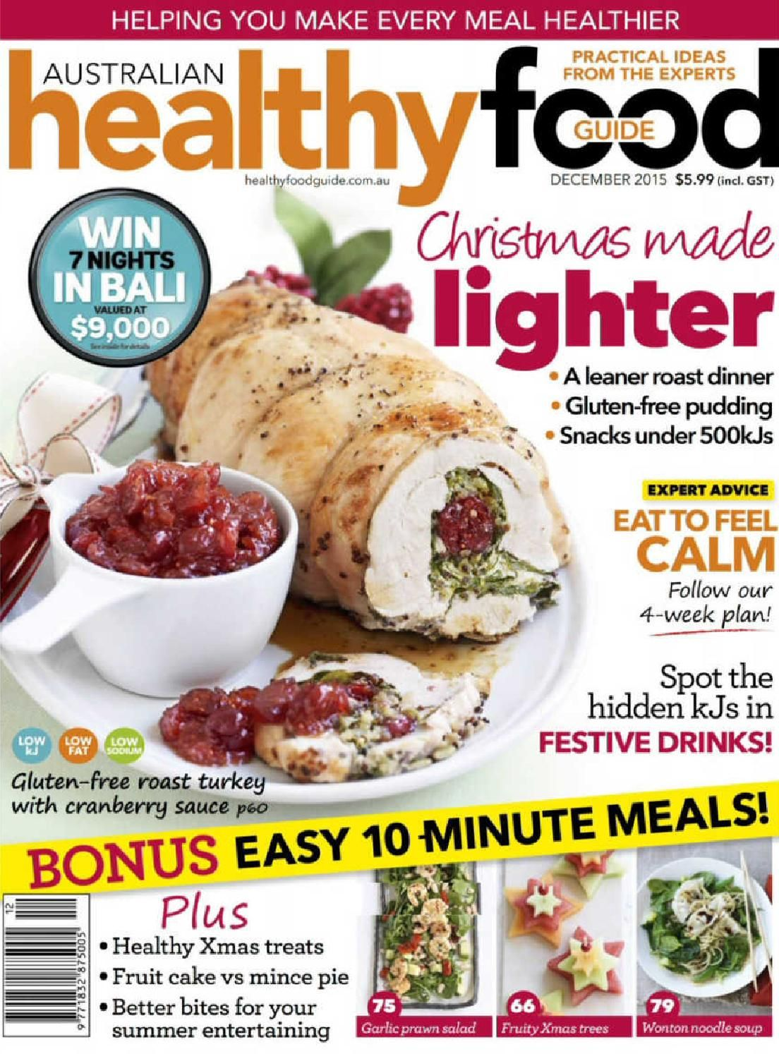 Healthy food guide december 2015 au by cky2kbg issuu books food healthy food guide forumfinder Image collections