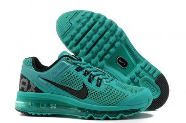 nike air max 2013 womens atomic turquoise black running shoes