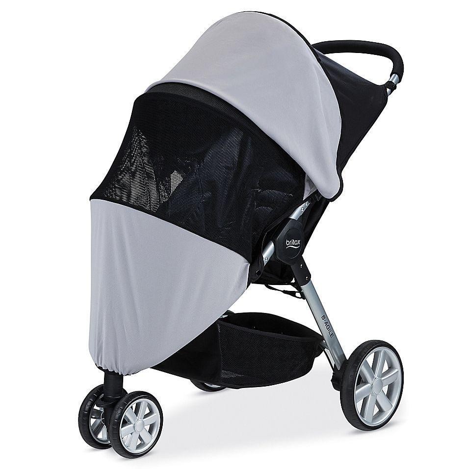 10++ Britax pathway stroller tray information