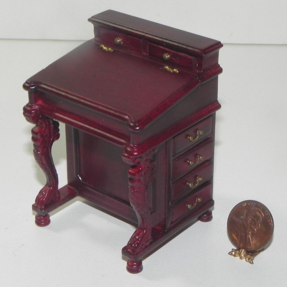 Dollhouse Miniature Night Stand in Black by Town Square Miniatures