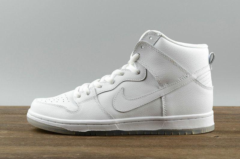 603c89744896 Shop Nike SB Dunk High Pro Columbia Mens Sneakers White blanc Light Base  Grey-White blanc 305050-113 Youth Big Boys Shoes
