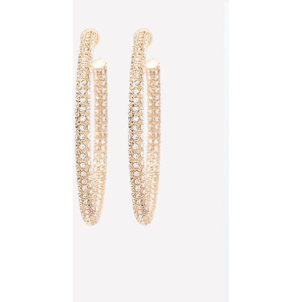Thick Crystal Hoop Earrings ❤ liked on Polyvore featuring jewelry, earrings, hoop earrings, druzy earrings, crystal stone jewelry, crystal jewellery and druzy jewelry