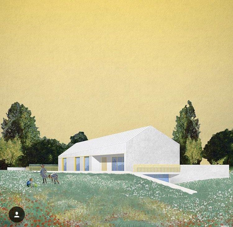 paintings for architectural collages - Google zoeken #architektonischepräsentation