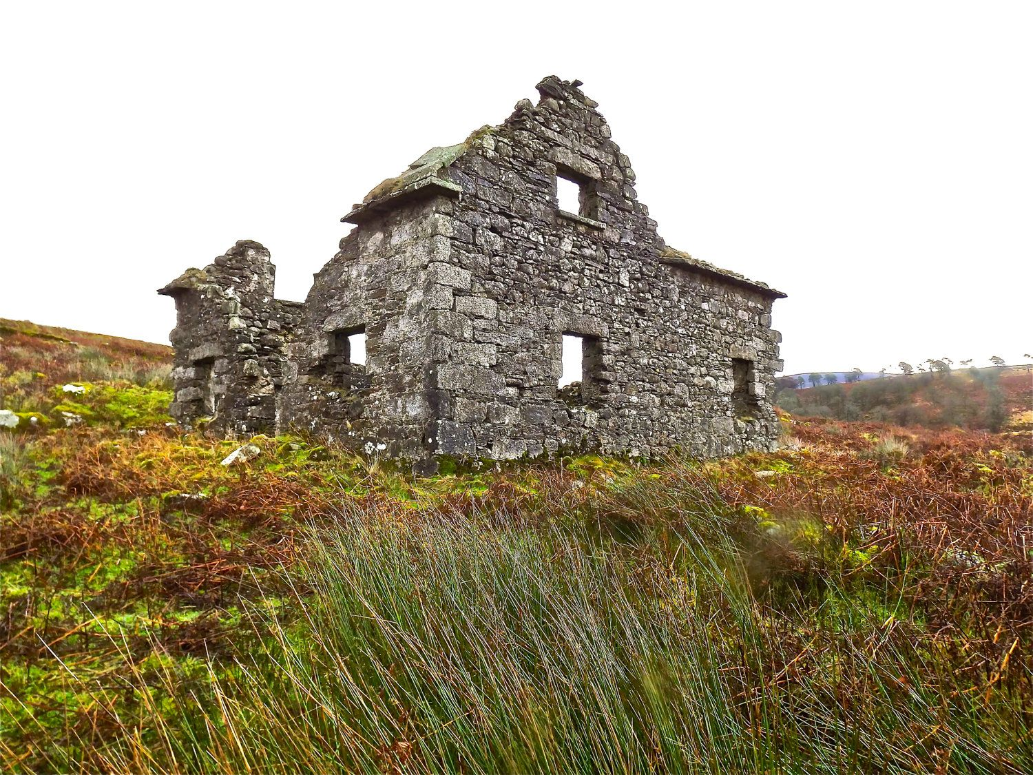 Irish Photography Old Ruin of Stone House near by AndyCsPhotos