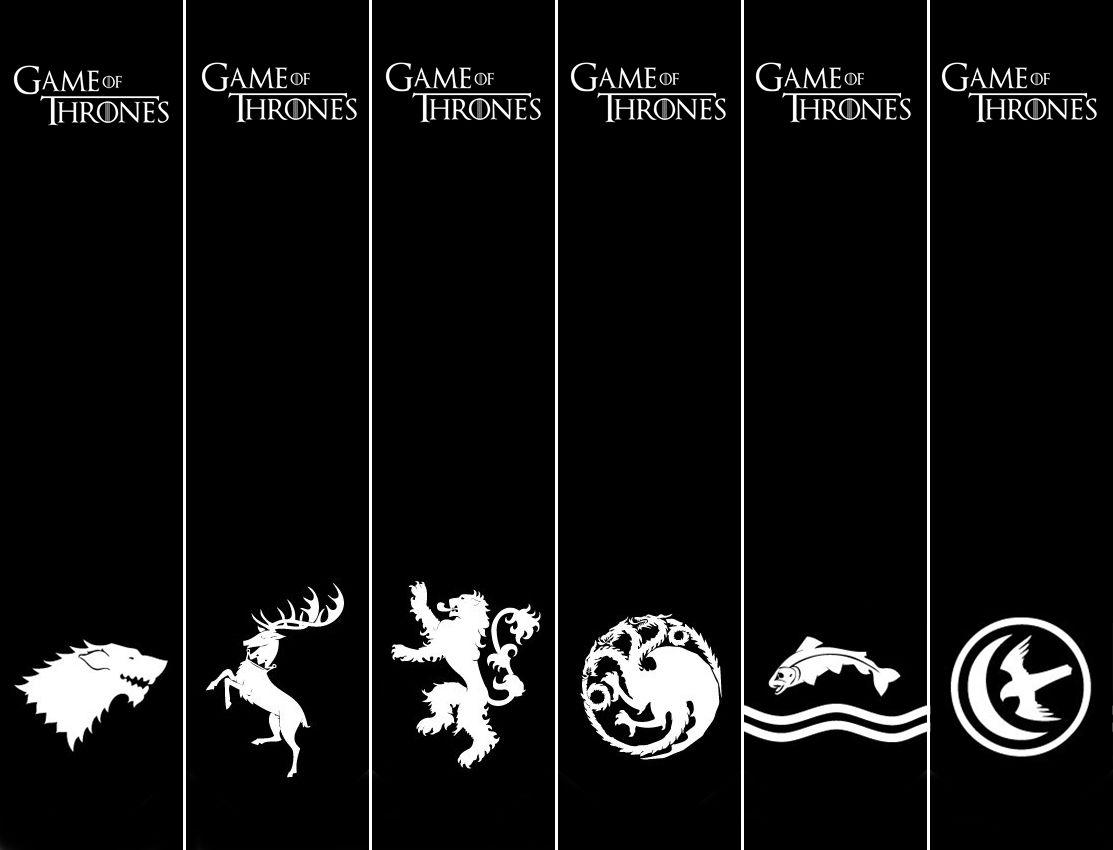 Marca Pagina Para Imprimir Game Of Thrones Marcador De Livro