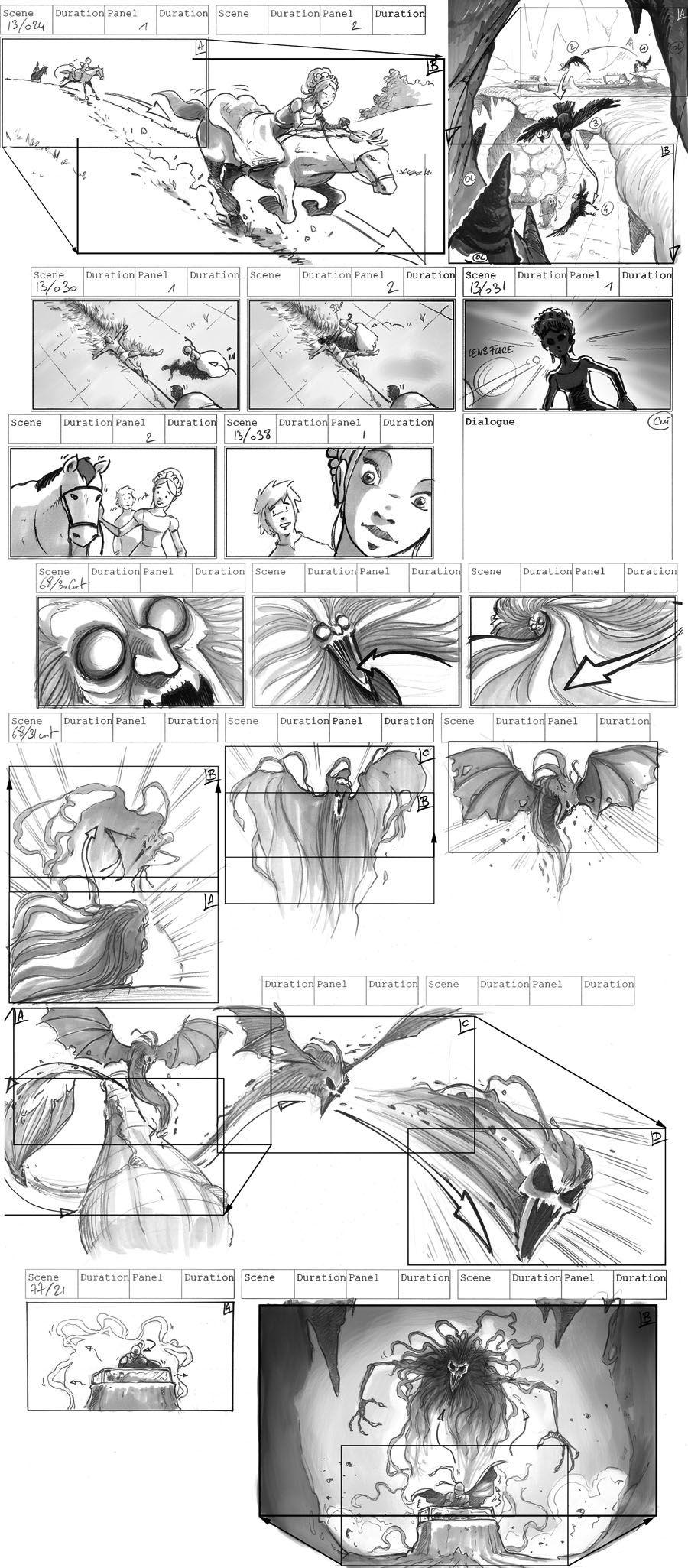 Galeries  Storyboard Live  Pascal Thiebaux HttpThiebaux
