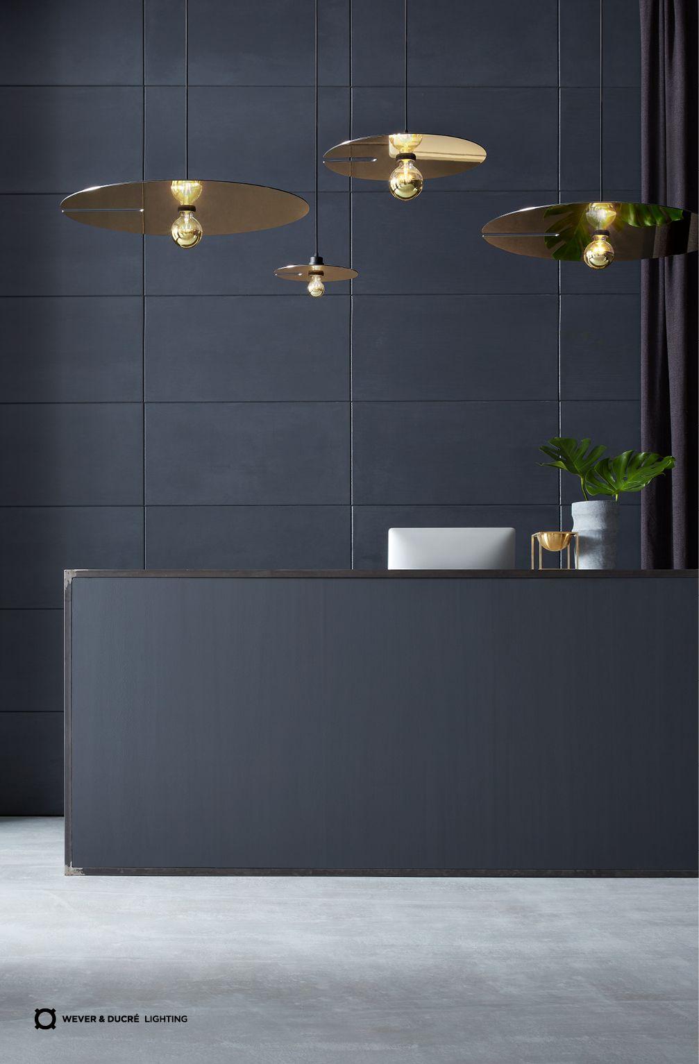 Mirro Collection Shimmering And Circular Luminaires Modernes Design Design Lampen