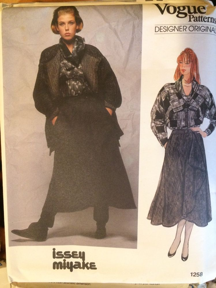 Fancy Issey Miyake Sewing Patterns Pictures - Easy Scarf Knitting ...