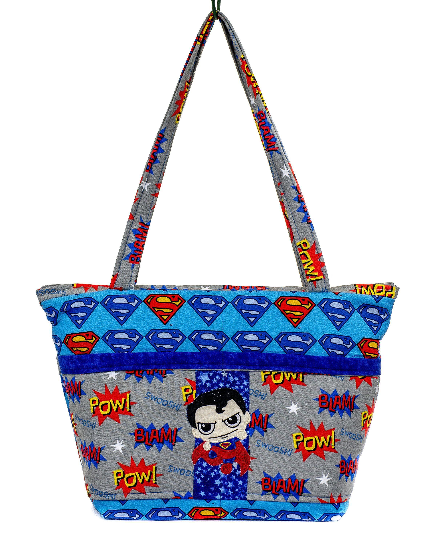 Superman Diaper Bag, Super Hero Dad, New Dad Gift, Superhero