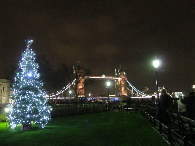 Tower Bridge London Weihnachten