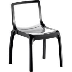 Pedrali Miss_You 610 Stuhl, transparent, Rahmen transparent PedraliPedrali