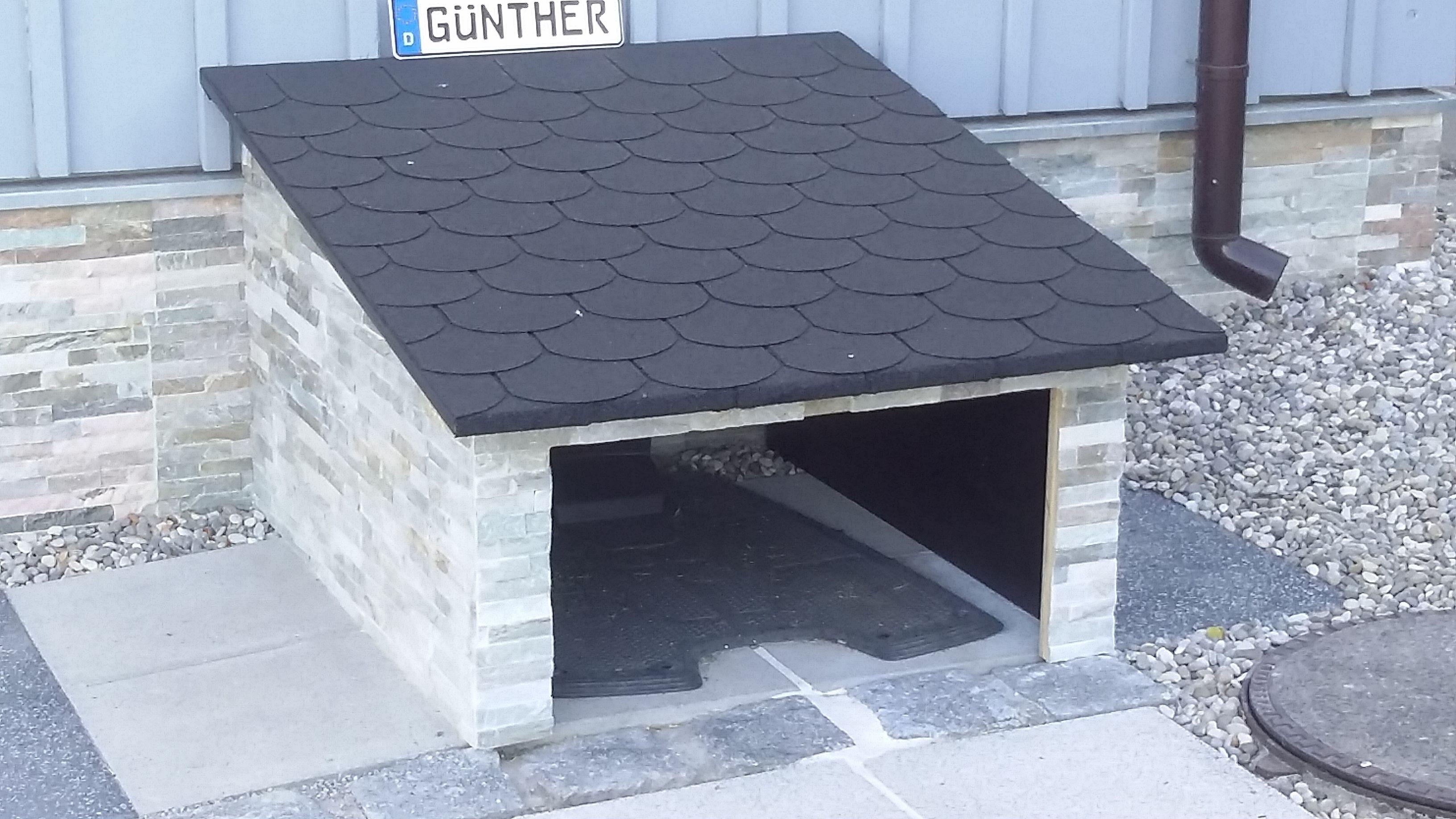 Garage für den Automower 305 selbst bauen - oder kaufen   Garten ...