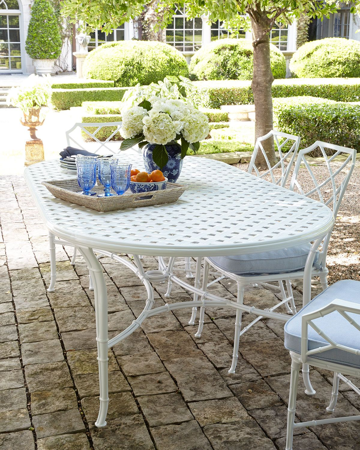 Admirable Calcutta Outdoor Dining Table In 2019 Horchow Round Caraccident5 Cool Chair Designs And Ideas Caraccident5Info