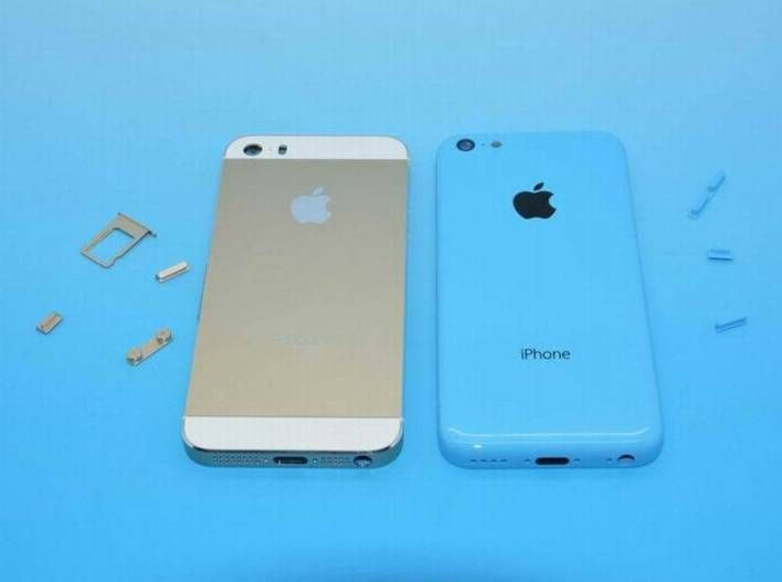 Alleged Iphone 5s And Iphone 5c Pictured Together For The First Time Iphone Iphone 5s Mobile Phone Sale
