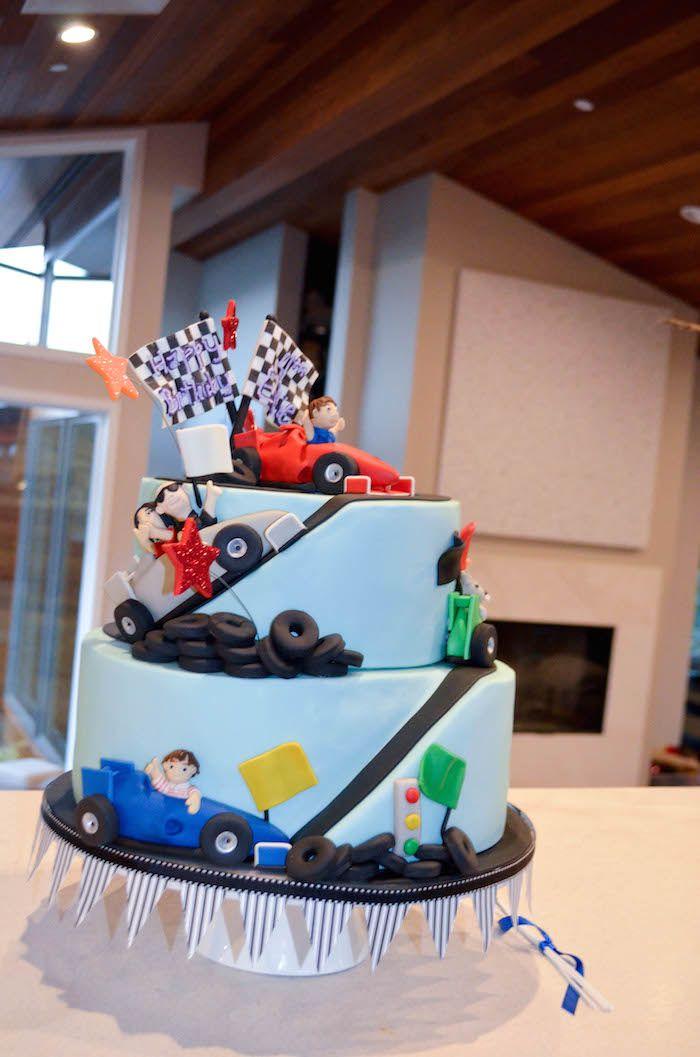 Race Car Themed Birthday Party Decor Planning Ideas Cars
