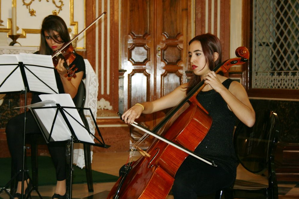 Hora de Mercado, Hora de Música. 18 de Octubre de 2014 Concierto Cuarteto Lacrimosa.