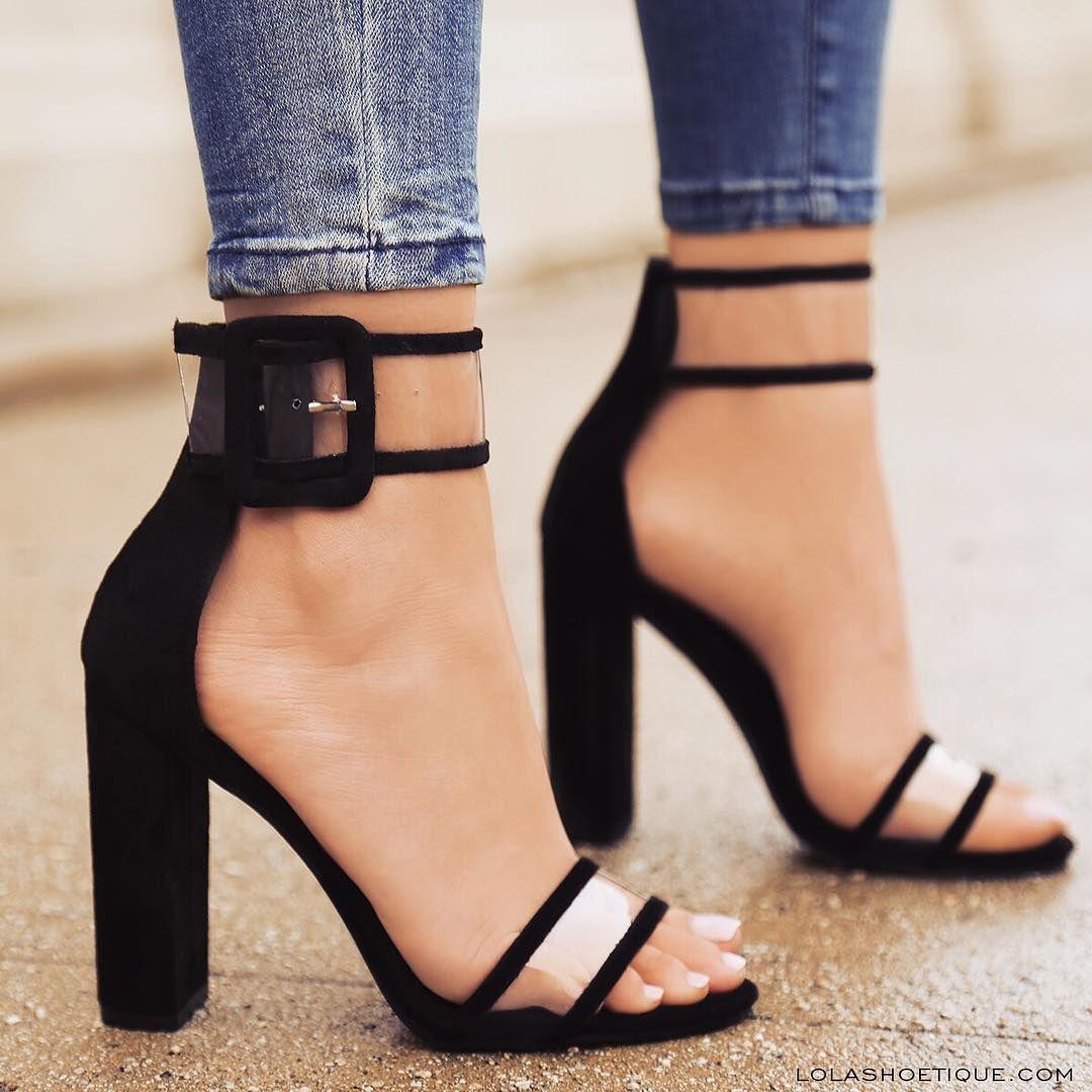 Zapatos negros con hebilla Find para mujer mDlfK7NBq