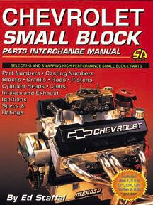 Parts Interchange Manual For Small Block Chevy Classic Chevy Trucks