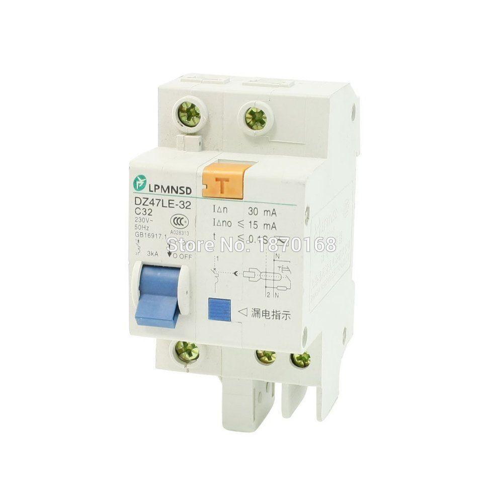 Dz47le 1p 10a 16a 20a 25a 32a 40a 50a 63a Ac 230 V 3ka 1 P Generator Circuit Breaker Lot Of 10 Ebay