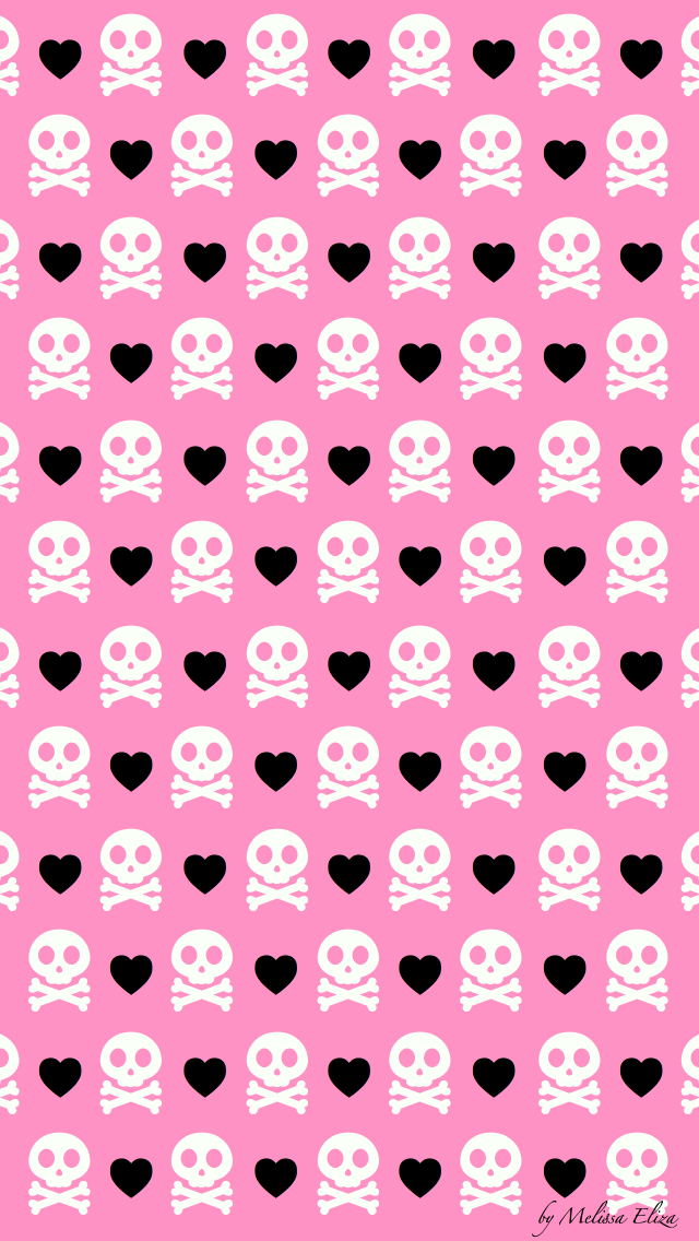 Pin By Diane King On Skullz Wallz Skull Wallpaper Pink Skull Wallpaper Iphone Wallpaper Pattern