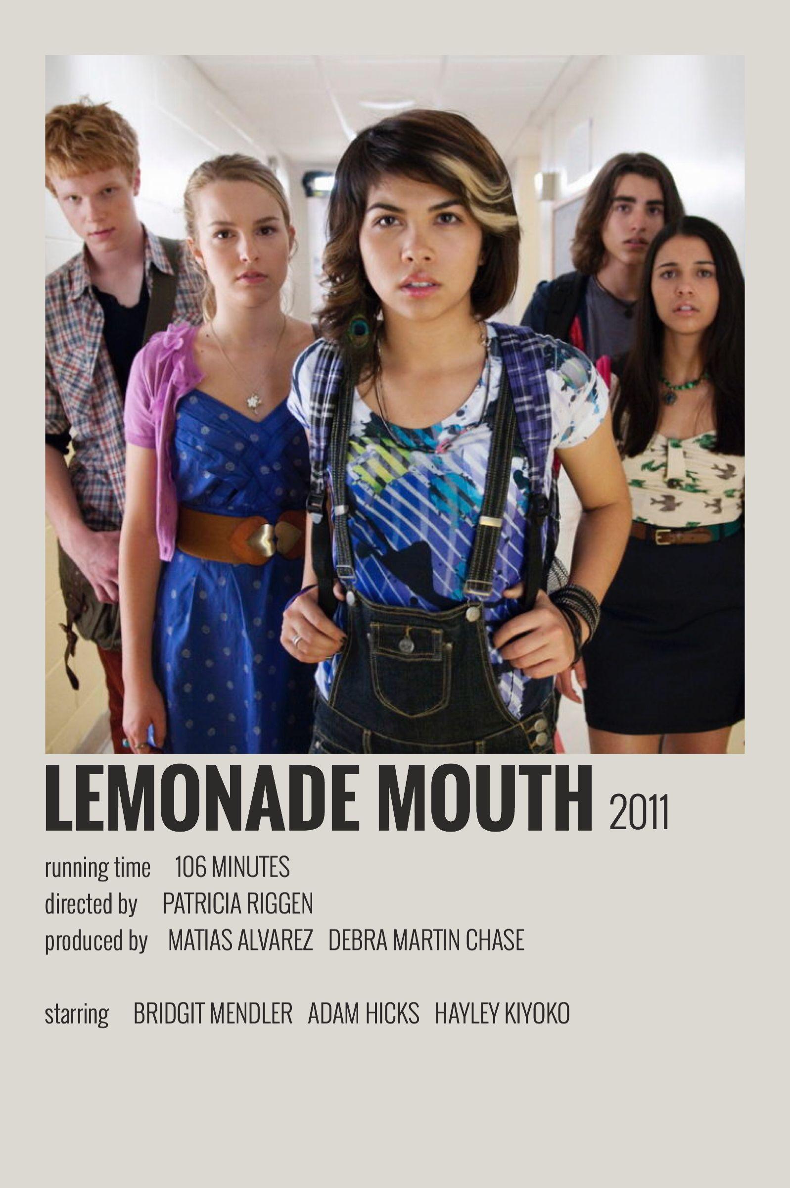 45++ Lemonade mouth book vs movie info