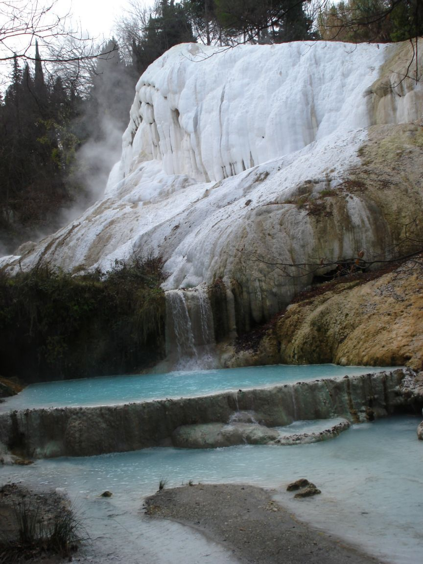 Bagni San Filippo Hot Springs Province Of Siena Italy Siena