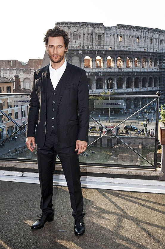 Matthew McConaughey, a Roma, ci racconta Interstellar