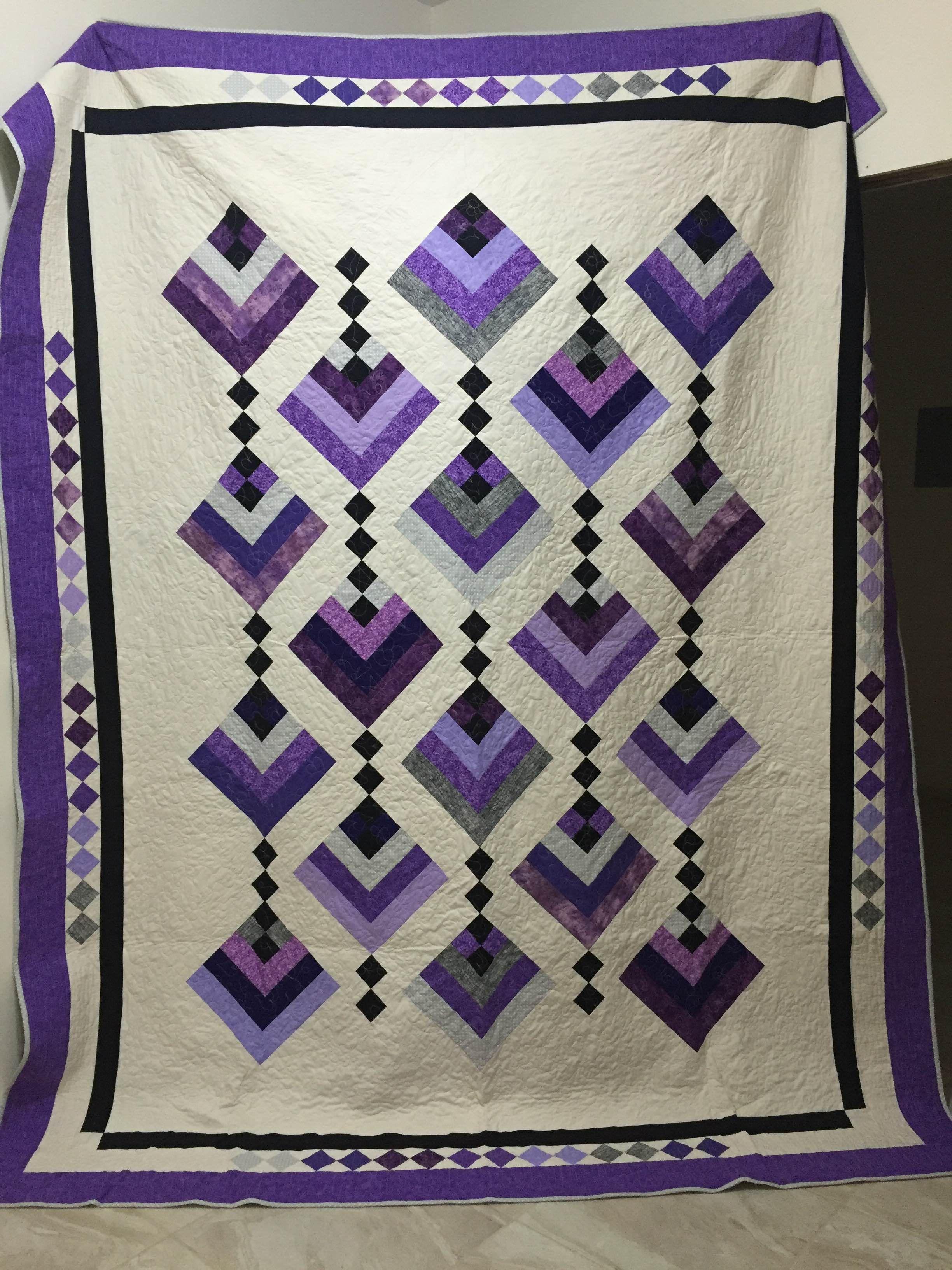 Hanging Garden Quilt-Chau Huynh  Quilts, Garden quilt, Modern quilts