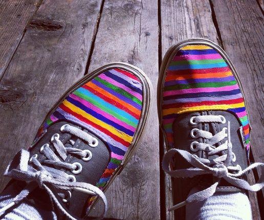 Vans, Make your own shoes, Shoe laces
