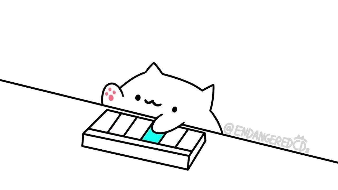 Bongo Cat Super Mario Theme Song Cute Halloween Drawings Cute Drawings Kawaii Illustration