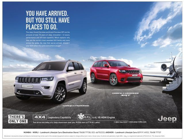 Jeep You Have Arrived But You Still Have Places To Go Campaignsnow Automobile Advertising Car Advertising Design Car Advertising