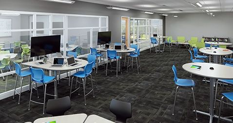 Designing Innovative Classroom Spaces Use Design Thinking