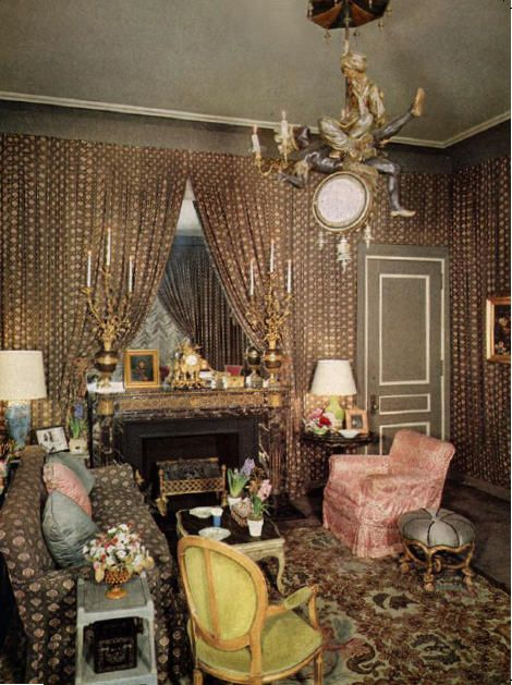 Babe Paley S Nyc Living Room By The Legandary Billy