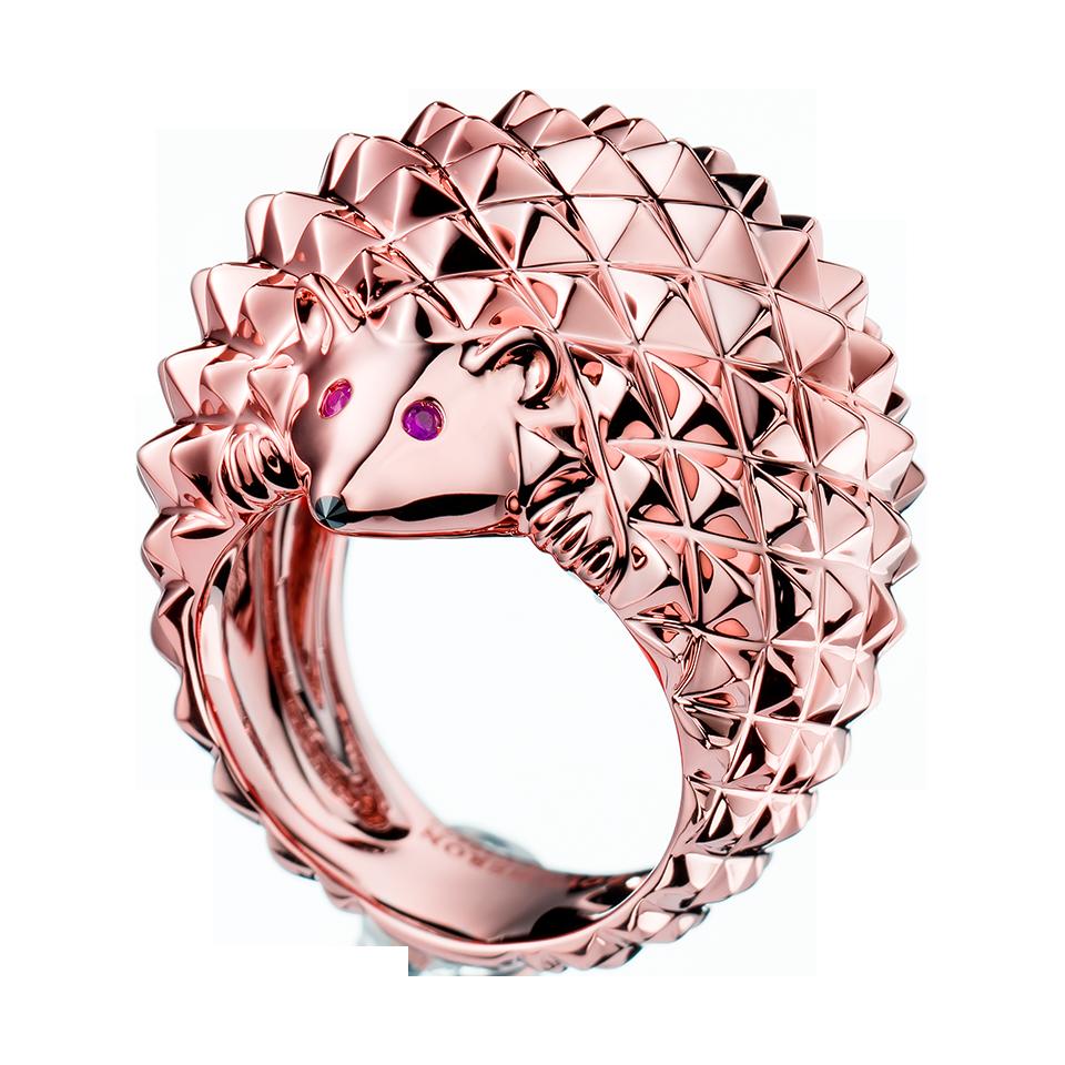 Hérisson Ring, a Maison Boucheron Jewelry creation. A Boucheron ...