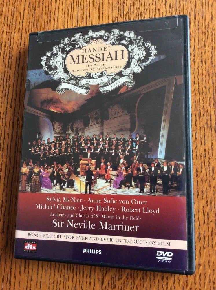 Handel messiah the 250th anniversary performance dvd