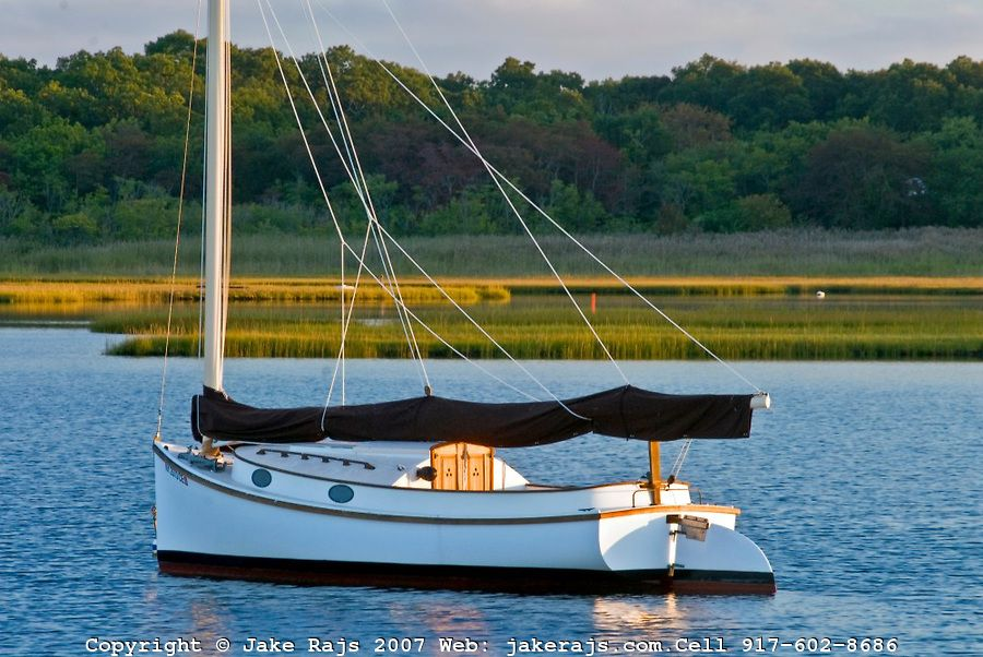 Catboat, South Fork, Springs, Accabonac Harbor, Long Island, New York | Stuff I Like | Boat ...