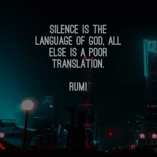 61 Famous quotes and sayings by Rumi