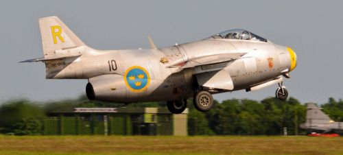 Swedish Air Force, Saab 29 Tunnan